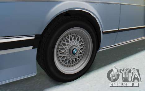 BMW M635 CSi (E24) 1984 IVF PJ1 para GTA San Andreas vista traseira