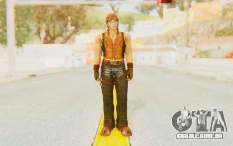 Hwoarang Skin para GTA San Andreas segunda tela