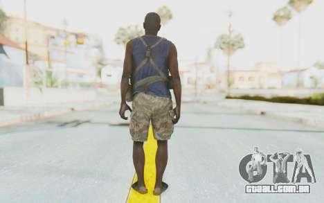 CoD MW3 Africa Militia v2 para GTA San Andreas terceira tela