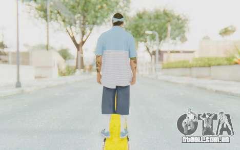GTA 5 Aztecas Gang 2 para GTA San Andreas terceira tela