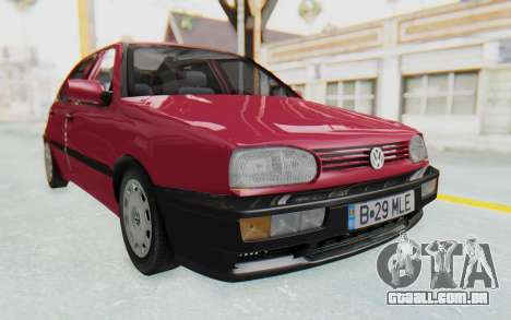 Volkswagen Golf 3 1994 para GTA San Andreas vista direita