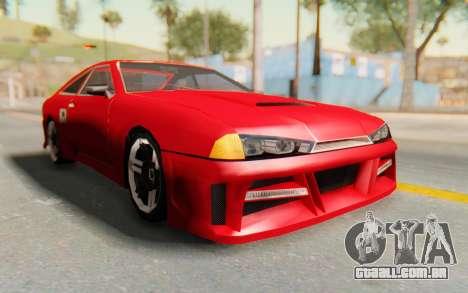 Elegy GT v1 para GTA San Andreas vista traseira