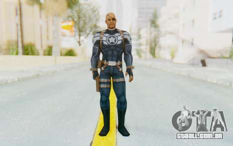 Marvel Future Fight - Nick Fury para GTA San Andreas segunda tela