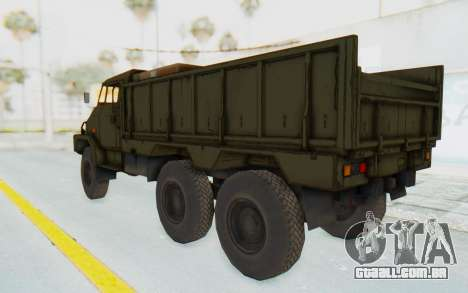 MGSV Phantom Pain BOAR 53CT Truck para GTA San Andreas vista direita