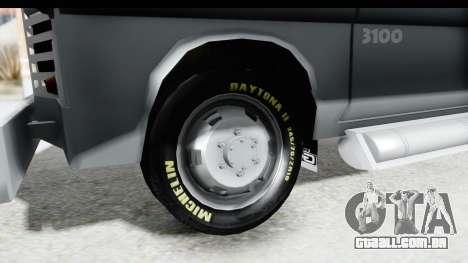 GMC 3100 Diesel para GTA San Andreas vista traseira