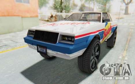 GTA 5 Willard Faction Custom Donk v1 IVF para GTA San Andreas vista inferior