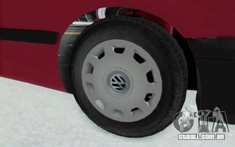 Volkswagen Golf 3 1994 para GTA San Andreas vista traseira