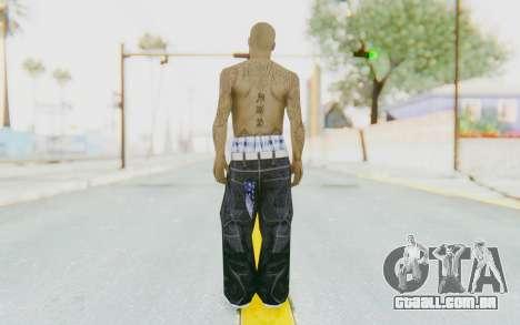 Mexican Skin para GTA San Andreas terceira tela