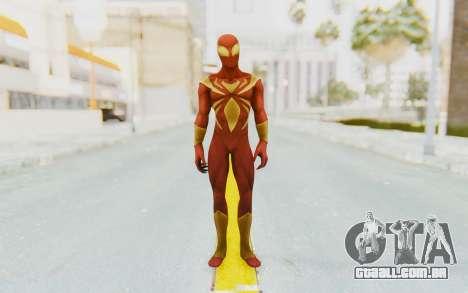 Marvel Heroes - Iron Spider para GTA San Andreas segunda tela