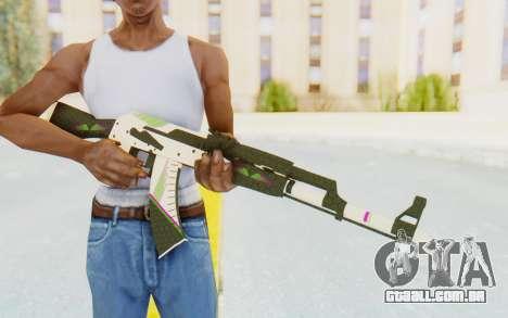CS:GO - AK-47 Sport para GTA San Andreas terceira tela