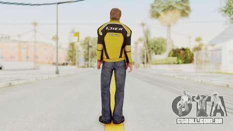 Dead Rising 3 Chuck Greene on DR2 Outfit para GTA San Andreas terceira tela