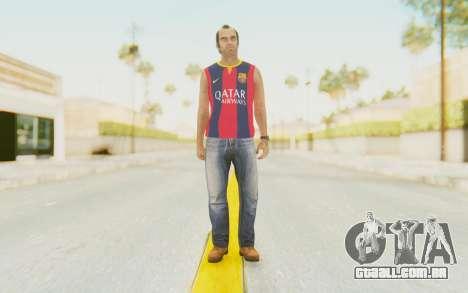 Trevor Barcelona para GTA San Andreas segunda tela