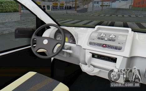 Mercedes-Benz Viano W639 2010 Long Version para GTA San Andreas vista interior