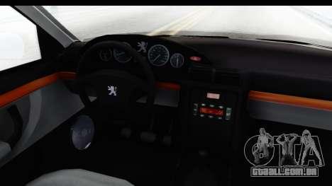 Peugeot 406 Coupe para GTA San Andreas vista interior