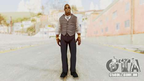 Dead Rising 2 Off The Record TK Coat Less para GTA San Andreas segunda tela