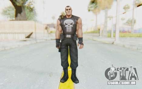 Marvel Future Fight - Punisher para GTA San Andreas segunda tela