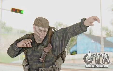 COD BO PVT Scott Vietnam para GTA San Andreas