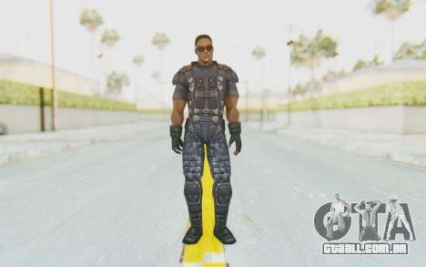 Marvel Future Fight - Falcon para GTA San Andreas segunda tela