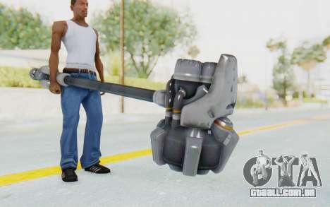 Reinhardt Hammer para GTA San Andreas