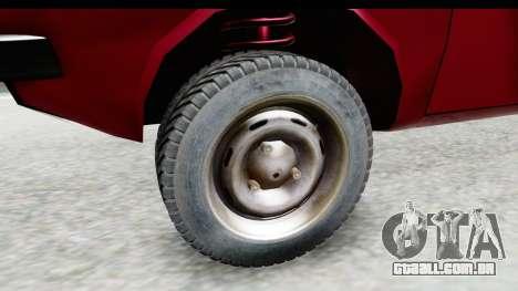 Dacia 1310 TLX v2 para GTA San Andreas vista traseira