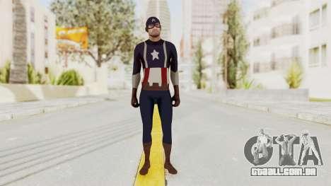 Trevor in Captain America Suit para GTA San Andreas segunda tela