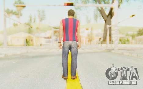 Trevor Barcelona para GTA San Andreas terceira tela
