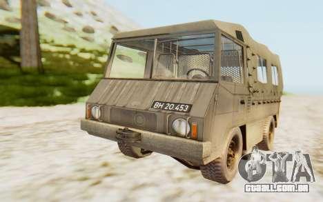 Pinzgauer 710M para GTA San Andreas vista direita