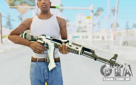 CS:GO - AK-47 Vulcan para GTA San Andreas terceira tela