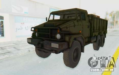 MGSV Phantom Pain BOAR 53CT Truck para GTA San Andreas