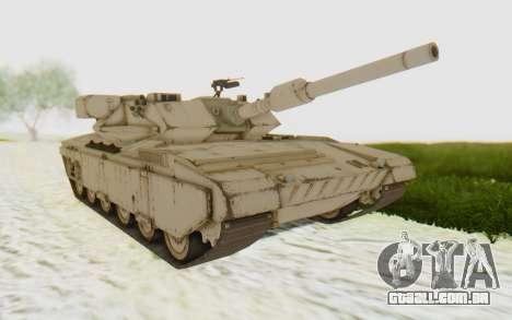 MGSV Phantom Pain M84A MAGLOADER para GTA San Andreas traseira esquerda vista
