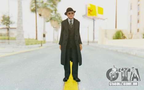 Mafia 2 - Jimmy Vendetta Black Suit para GTA San Andreas segunda tela