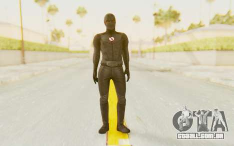 The Flash CW - Black Flash para GTA San Andreas segunda tela
