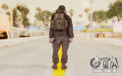 COD BO PVT Pepper Vietnam para GTA San Andreas terceira tela