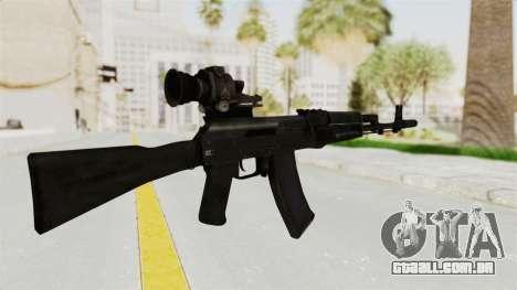 AK-74M v4 para GTA San Andreas segunda tela