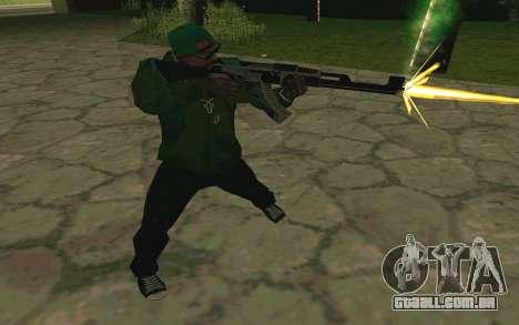 AK-47 Vulcan (SA) para GTA San Andreas sexta tela