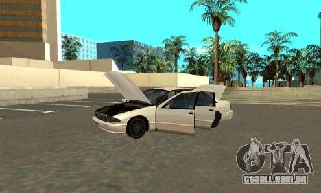 Caprice styled Premier para GTA San Andreas vista direita