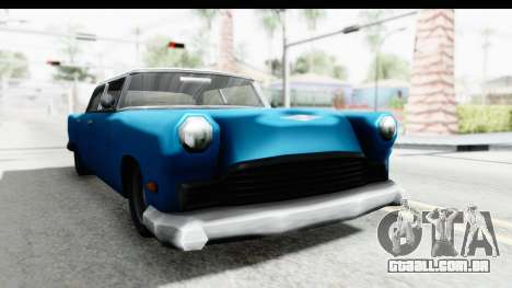 Cabbie Oceanic para GTA San Andreas vista direita