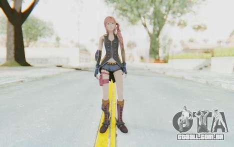 Final Fantasy XIII-2 - Serah Style and Steel para GTA San Andreas segunda tela