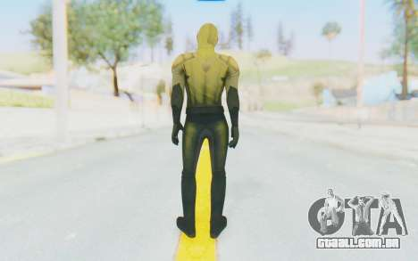 The Reverse Flash CW para GTA San Andreas terceira tela