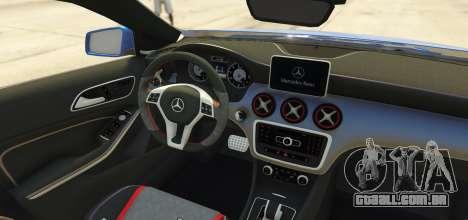 GTA 5 Mercedes-Benz A45 AMG 2017 traseira vista lateral esquerda