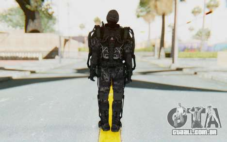 CoD Advanced Warfare Gideon para GTA San Andreas terceira tela