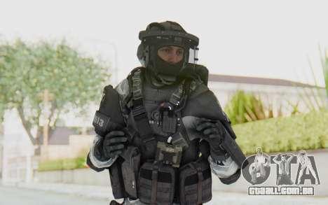 Federation Elite LMG Arctic para GTA San Andreas