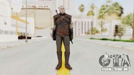 The Witcher 3: Wild Hunt - Geralt of Rivia para GTA San Andreas segunda tela