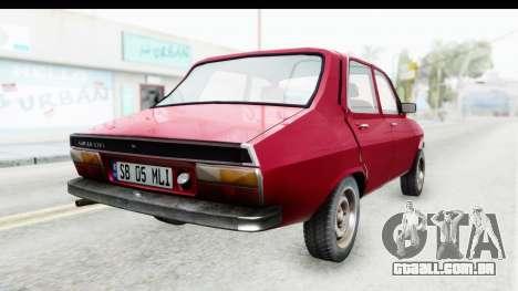 Dacia 1310 TLX v2 para GTA San Andreas esquerda vista