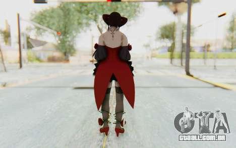 Eliza Skin para GTA San Andreas terceira tela