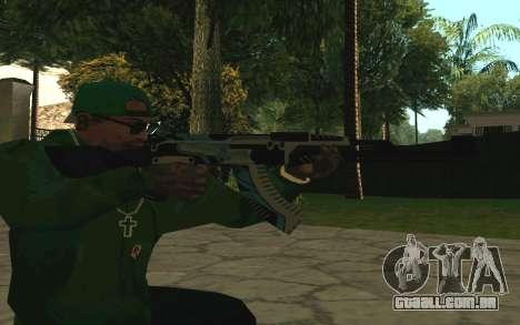 AK-47 Vulcan (SA) para GTA San Andreas por diante tela