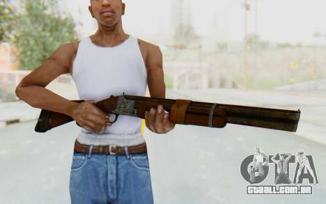 Caravan Shotgun from Fallout New Vegas para GTA San Andreas terceira tela
