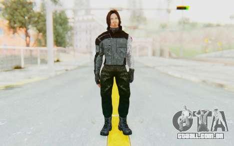 Bucky Barnes (Winter Soldier) v1 para GTA San Andreas segunda tela