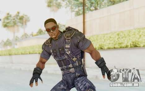 Marvel Future Fight - Falcon para GTA San Andreas
