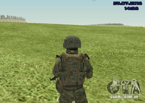Corpo De Fuzileiros Navais Lutador para GTA San Andreas segunda tela